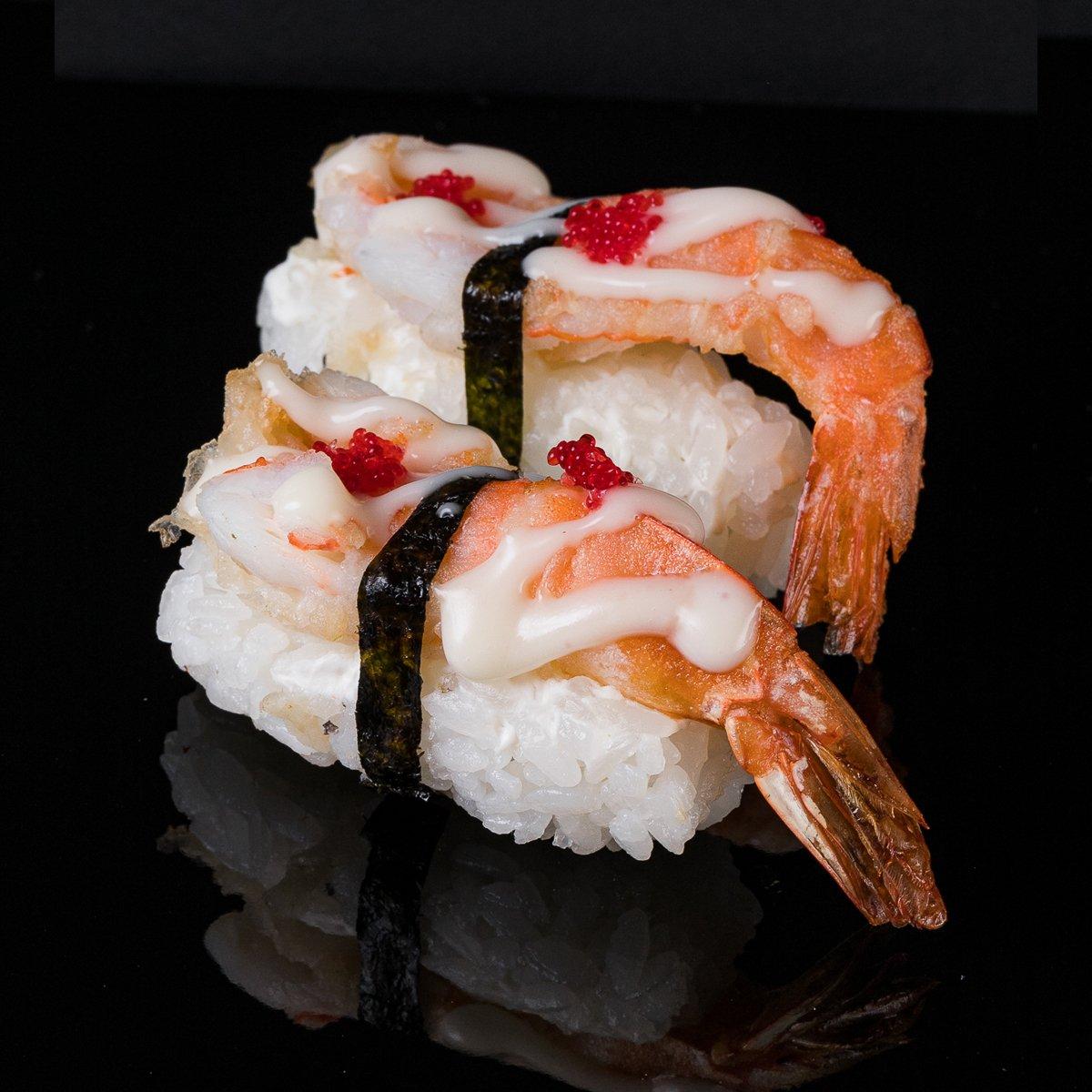 Суши с креветкой темпура